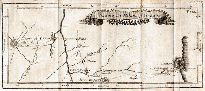 Il Novese tra le tappe del Gran Tour di Auguste Goethe