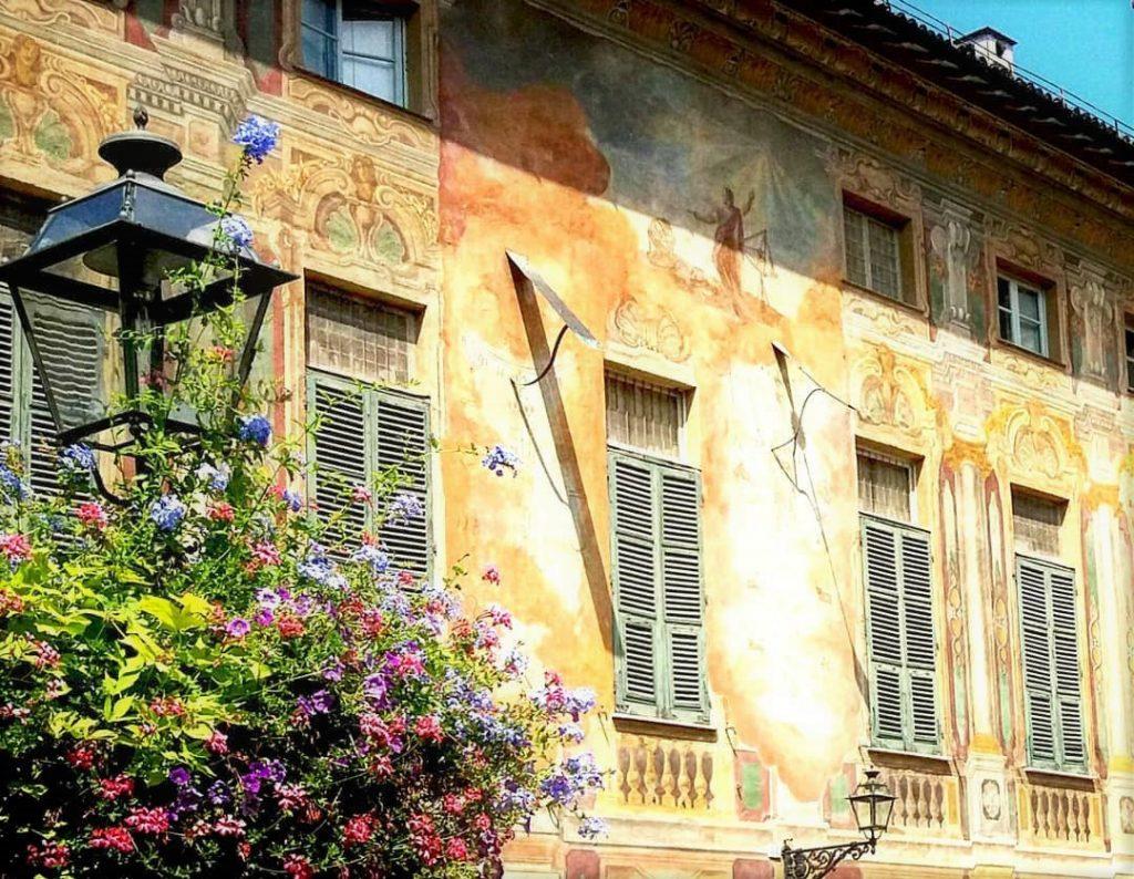 Novi Ligure meridiane palazzo Costa