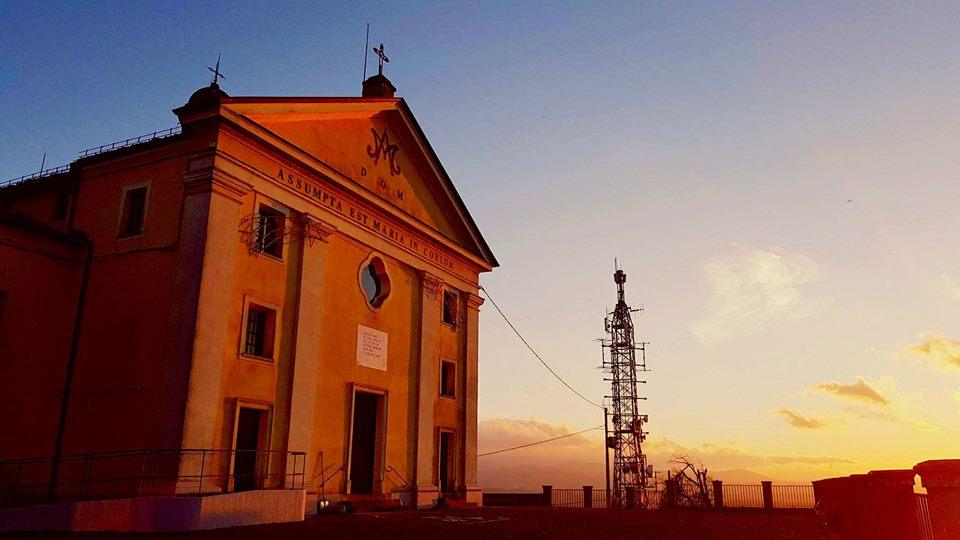 Il Santuario dellaMadonna di Montespineto