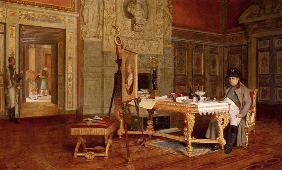 Il piatto della vittoria di Napoleone