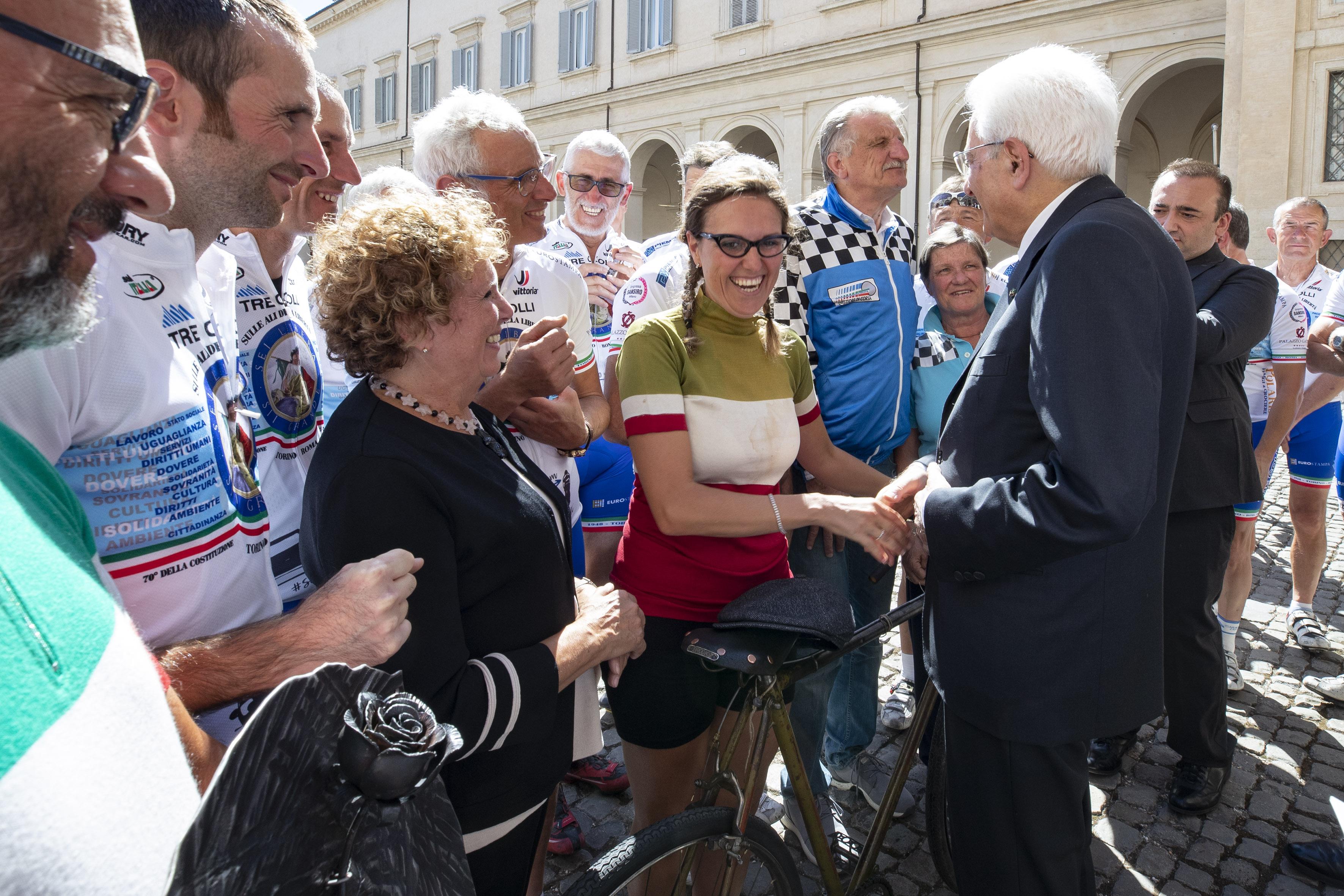 Sulle ali della libertà. Viaggio in bicicletta intorno ai 70 anni della Costituzione Italiana