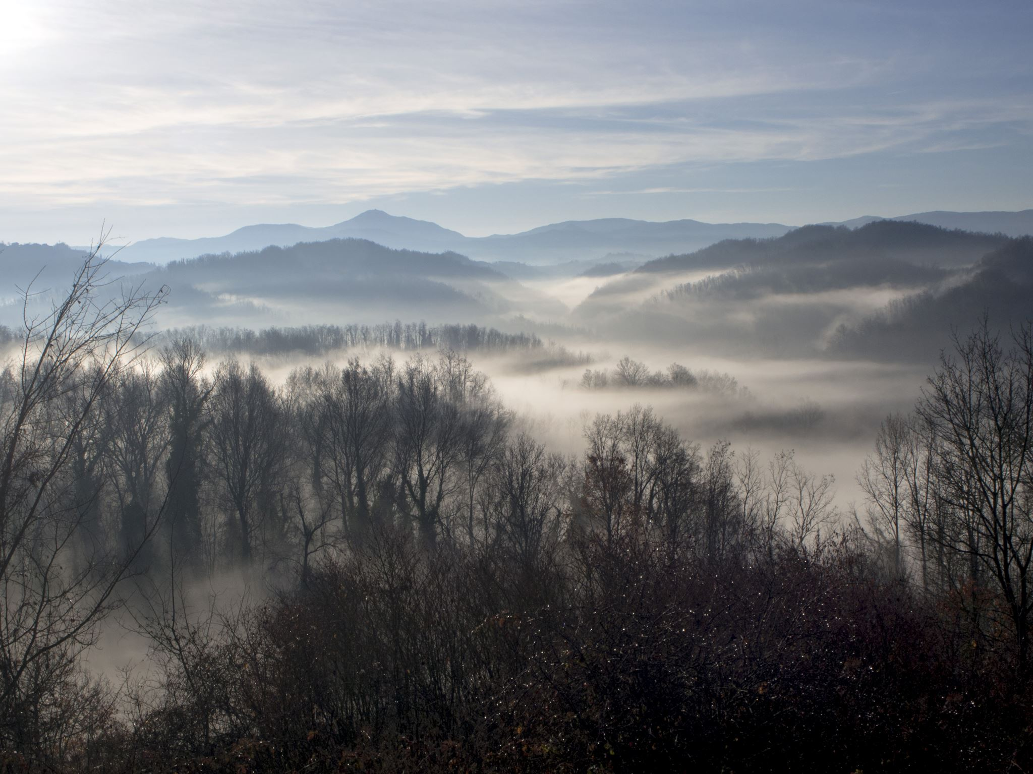 I punti panoramici che regalano paesaggi da favola nel Basso Piemonte