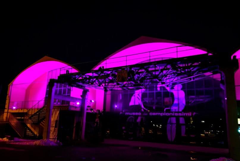 Il Museo dei Campionissimi si illumina di rosa aspettando il Giro