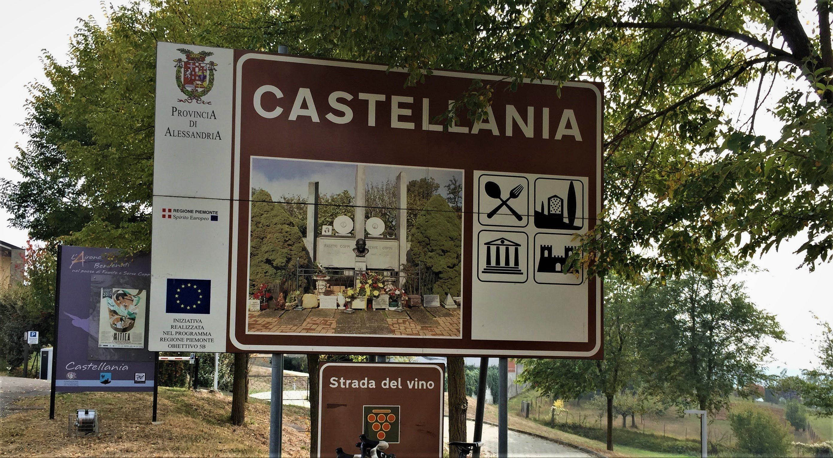 """Castellania omaggia il Campionissimo e diventa """"Castellania Coppi"""""""