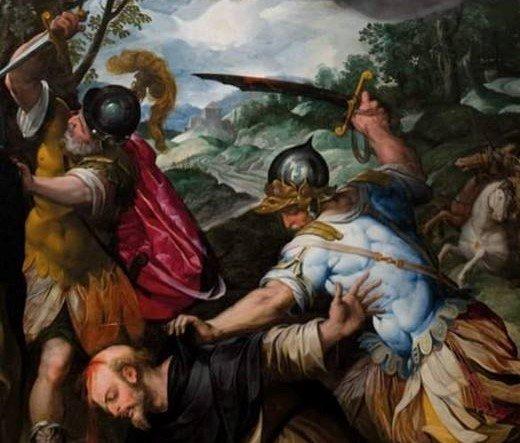 Presentazione del restauro del Martirio di San Pietro da Verona