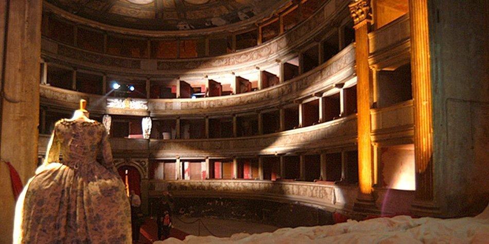 Annullo filatelico dedicato al Teatro Romualdo Marenco