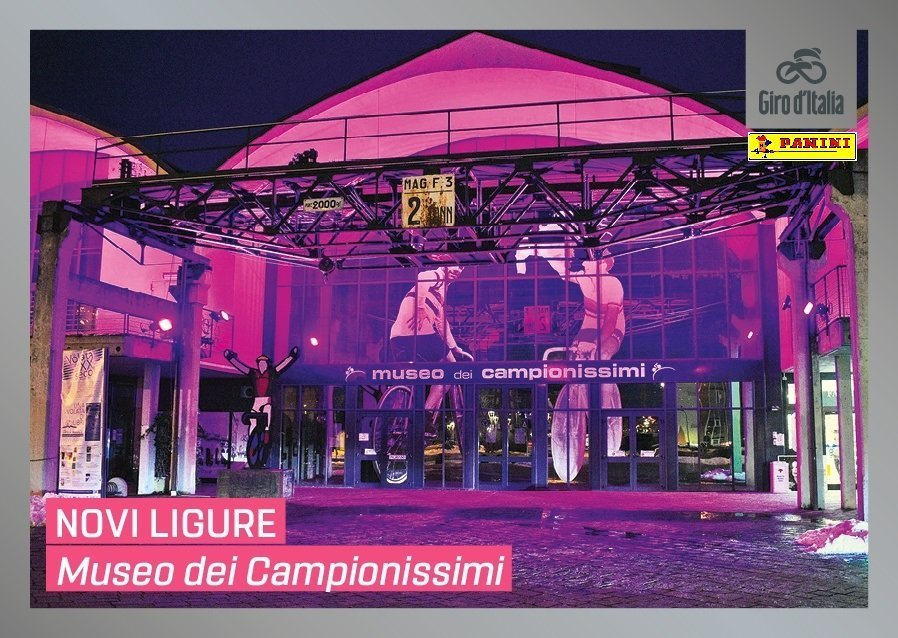 Il museo dei Campionissimi figurina Panini Giro d'Italia 102
