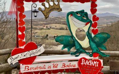 Il romantico belvedere della Val Borbera