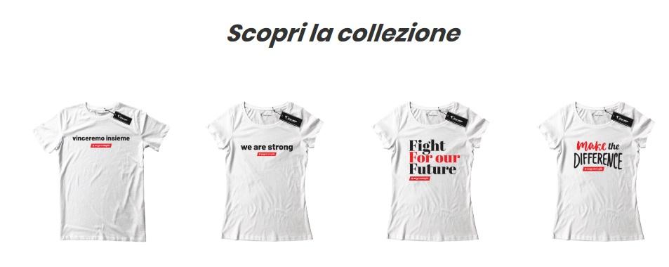 le t-shirt #ungestoinpiu per sostenere l'Ospedale di Alessandria