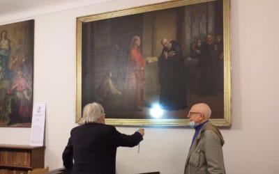 Vittorio Sgarbi visita a sorpresa Voltaggio!