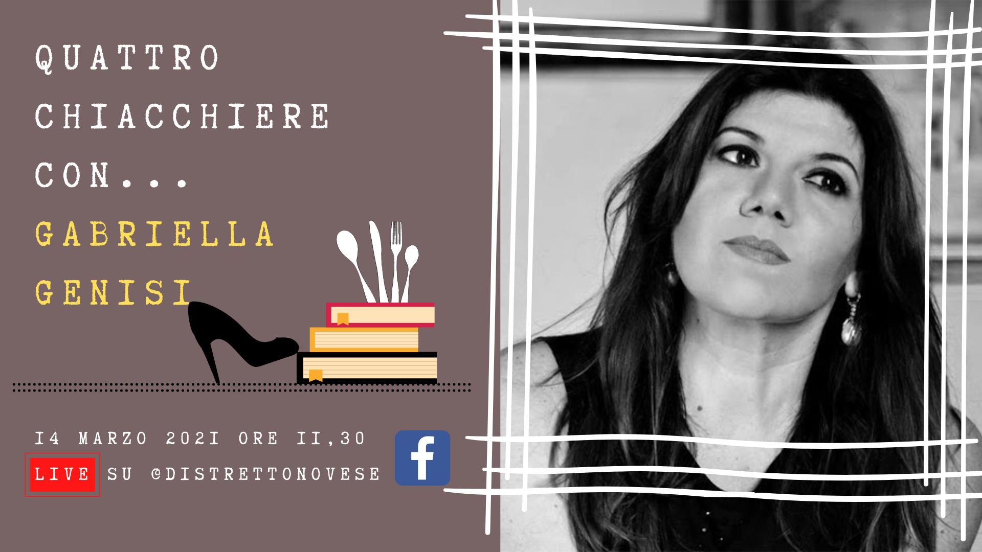 Quattro chiacchiere con Gabriella Genisi