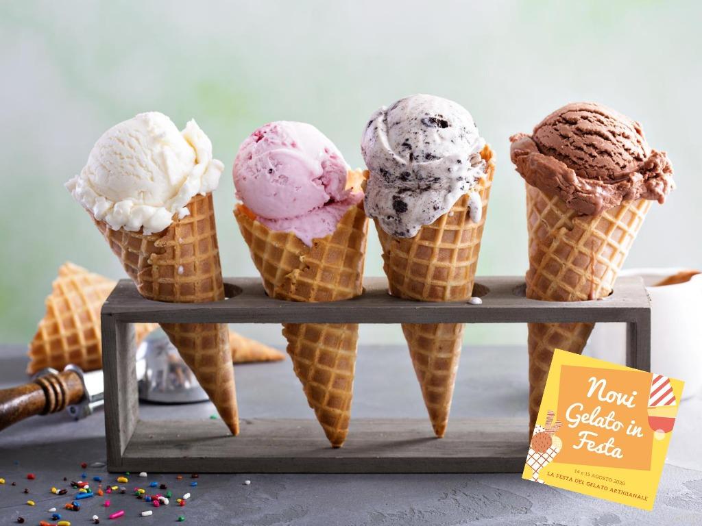 novi gelato in festa - La festa del Gelato artigianale a Novi Ligure